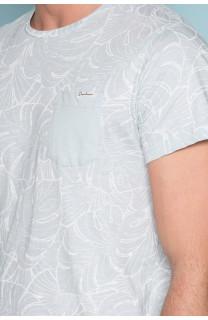 T-Shirt T-SHIRT MONSTERA Homme S19135 (41978) - DEELUXE