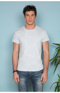 T-Shirt T-SHIRT MONSTERA Homme S19135 (41979) - DEELUXE