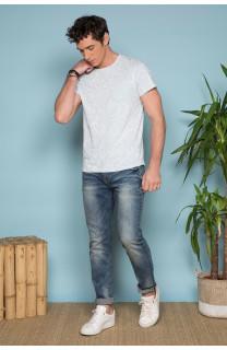 T-Shirt T-SHIRT MONSTERA Homme S19135 (41980) - DEELUXE