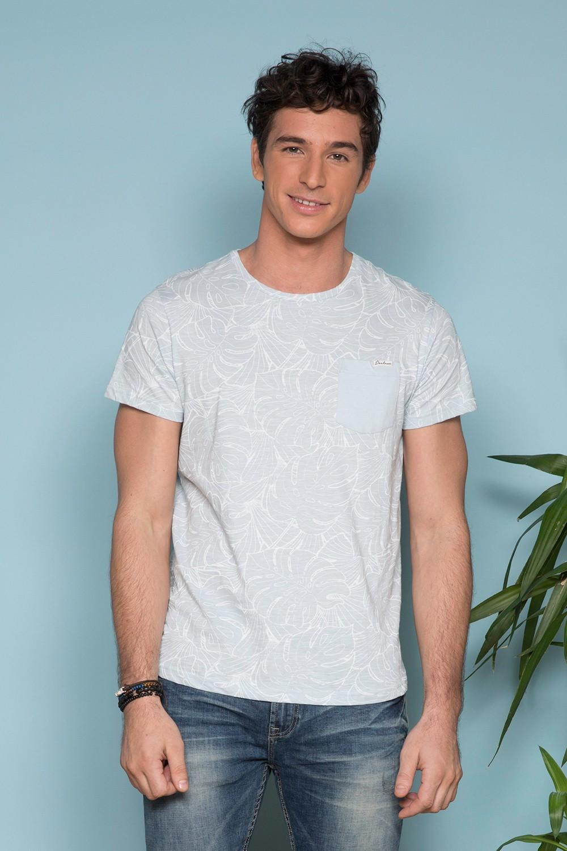 T-Shirt T-SHIRT MONSTERA Homme S19135 (41981) - DEELUXE