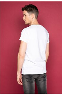 T-Shirt JUST Homme S19189 (42003) - DEELUXE