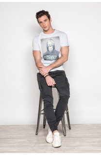 T-Shirt JUST Homme S19189 (42010) - DEELUXE