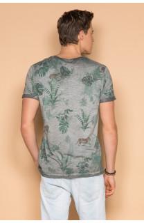 T-Shirt T-SHIRT JOSHUA Homme S19108 (42023) - DEELUXE