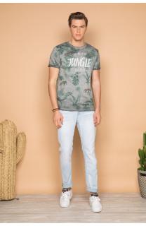 T-Shirt T-SHIRT JOSHUA Homme S19108 (42024) - DEELUXE