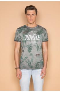 T-Shirt T-SHIRT JOSHUA Homme S19108 (42025) - DEELUXE