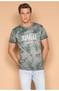 T-Shirt T-SHIRT JOSHUA Homme S19108 (42026) - DEELUXE