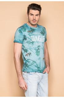 T-Shirt T-SHIRT JOSHUA Homme S19108 (42031) - DEELUXE