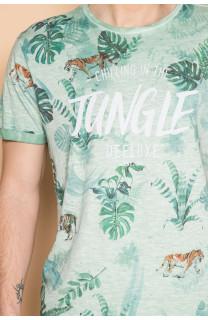 T-Shirt T-SHIRT JOSHUA Homme S19108 (42033) - DEELUXE