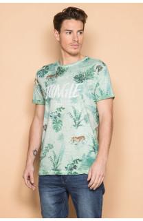 T-Shirt T-SHIRT JOSHUA Homme S19108 (42034) - DEELUXE