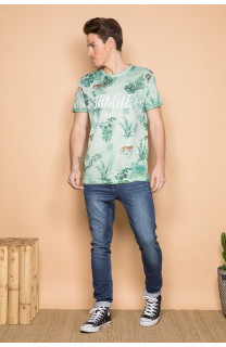 T-Shirt T-SHIRT JOSHUA Homme S19108 (42035) - DEELUXE