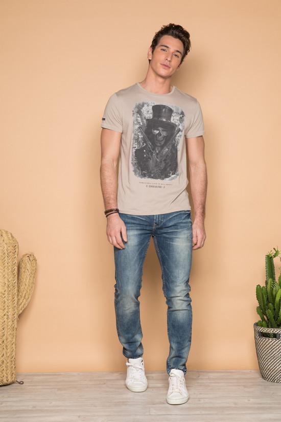 T-shirt GUNS Homme Deeluxe