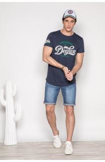 T-Shirt GRANT Homme S19176 (42150) - DEELUXE