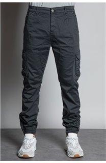 Pantalon PANTALON GARDEN Homme S197017 (42161) - DEELUXE