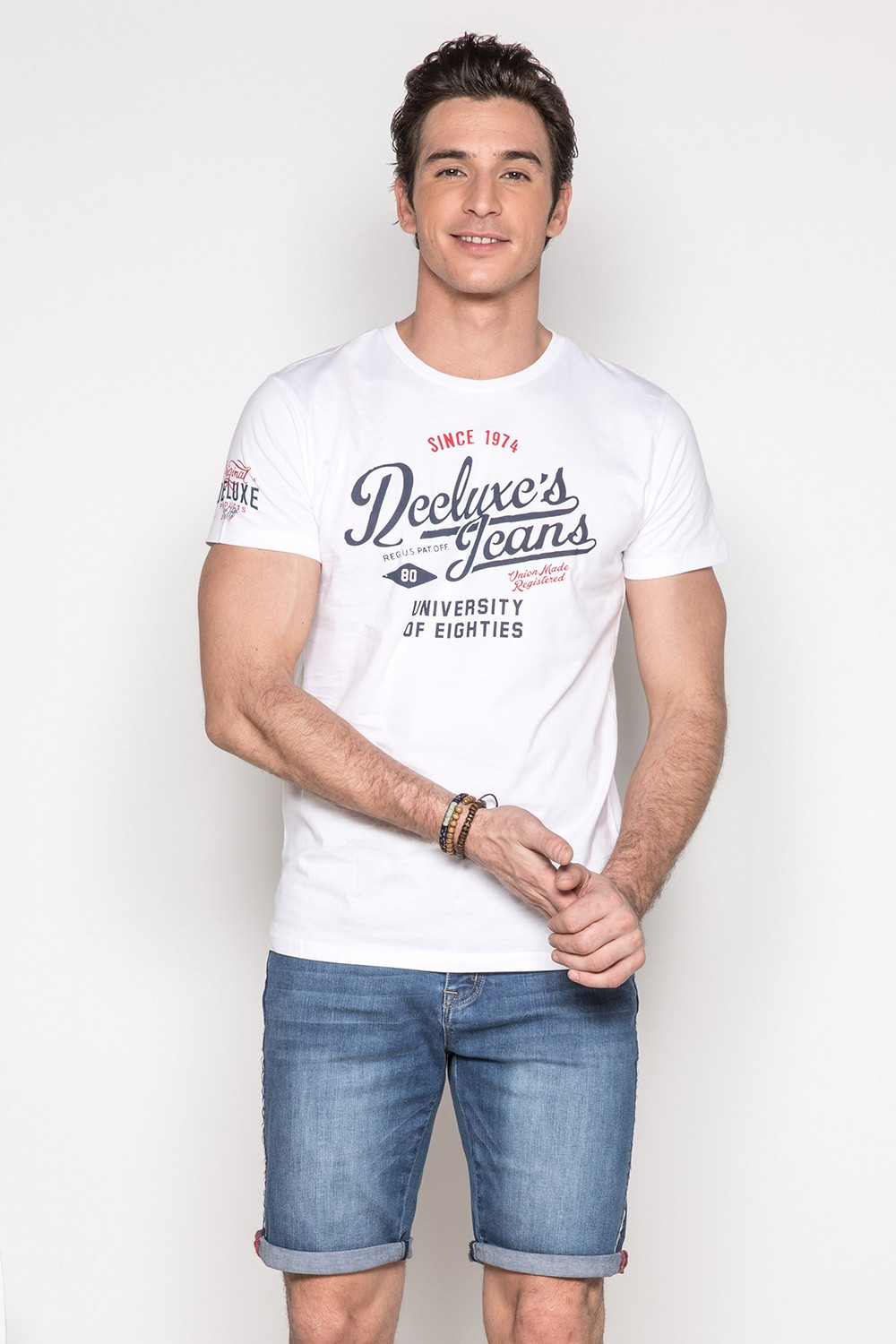 T-Shirt T-SHIRT EIGHTIES Homme S19170 (42198) - DEELUXE