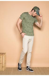 T-Shirt T-SHIRT COYOTE Homme S19105 (42374) - DEELUXE