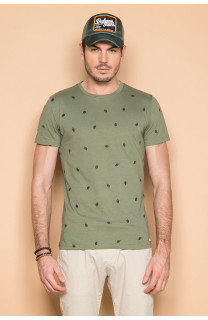 T-Shirt T-SHIRT COYOTE Homme S19105 (42375) - DEELUXE