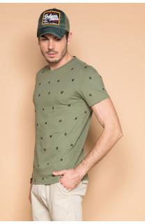 T-Shirt T-SHIRT COYOTE Homme S19105 (42376) - DEELUXE