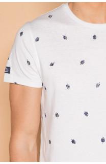 T-Shirt T-SHIRT COYOTE Homme S19105 (42377) - DEELUXE