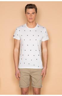 T-Shirt T-SHIRT COYOTE Homme S19105 (42378) - DEELUXE