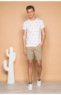 T-Shirt T-SHIRT COYOTE Homme S19105 (42380) - DEELUXE