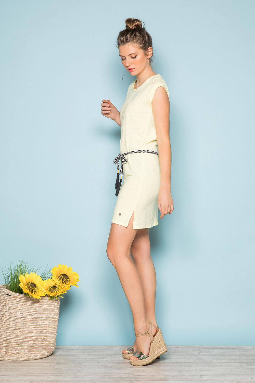 Robe TIME Femme S19212W (42393) - DEELUXE