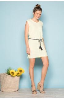 Robe TIME Femme S19212W (42401) - DEELUXE