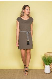 Robe TIME Femme S19212W (42402) - DEELUXE