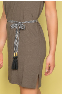 Robe TIME Femme S19212W (42403) - DEELUXE
