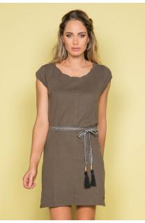 Robe TIME Femme S19212W (42404) - DEELUXE