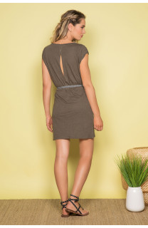 Robe TIME Femme S19212W (42405) - DEELUXE