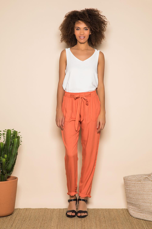 Pantalon ELIDA Femme S19725W (42440) - DEELUXE
