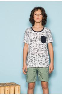 T-Shirt SUNAIR Garçon S19124B (42529) - DEELUXE