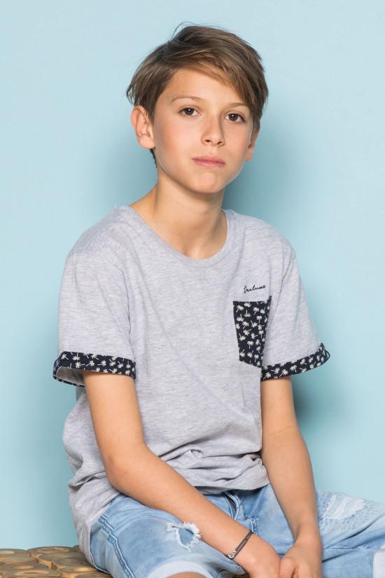 T-Shirt BAHAMAS Garçon S19141B (42547) - DEELUXE
