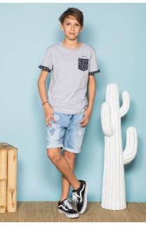 T-Shirt BAHAMAS Garçon S19141B (42548) - DEELUXE