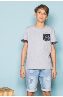 T-Shirt BAHAMAS Garçon S19141B (42551) - DEELUXE