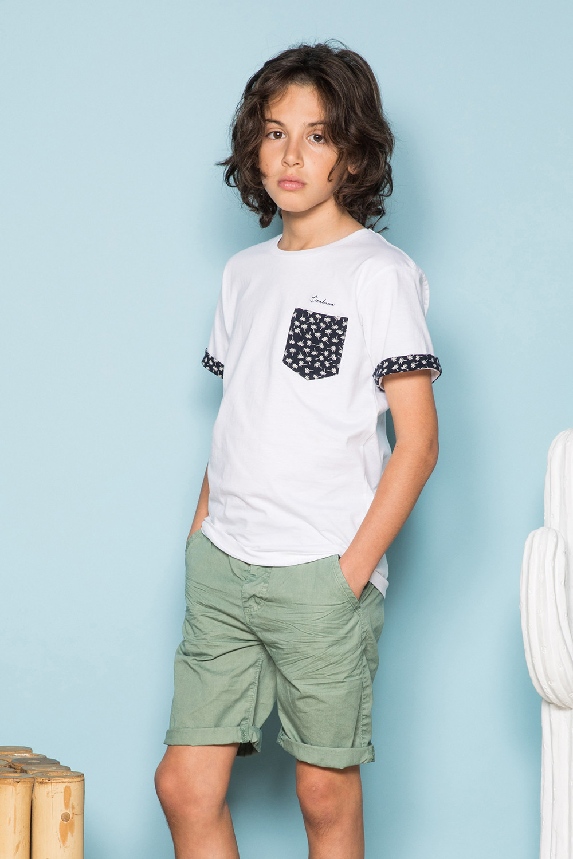 T-Shirt BAHAMAS Garçon S19141B (42552) - DEELUXE
