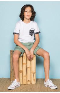 T-Shirt BAHAMAS Garçon S19141B (42553) - DEELUXE