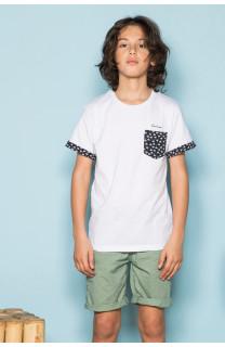 T-Shirt BAHAMAS Garçon S19141B (42554) - DEELUXE