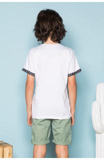 T-Shirt BAHAMAS Garçon S19141B (42555) - DEELUXE