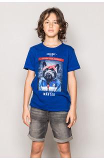 T-Shirt BANDIDO Garçon S19190B (42589) - DEELUXE