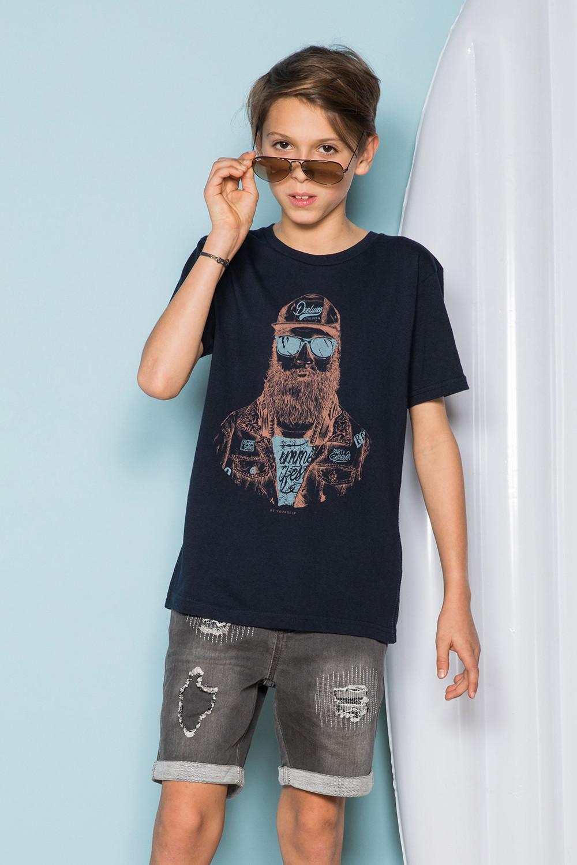 T-Shirt T-Shirt TELLON Garçon S19143B (42606) - DEELUXE