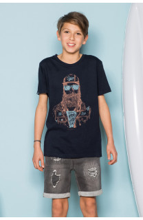 T-Shirt T-Shirt TELLON Garçon S19143B (42608) - DEELUXE
