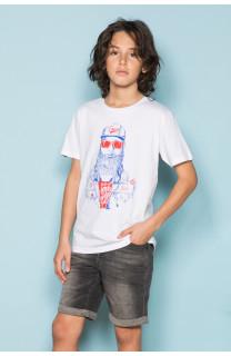T-Shirt T-Shirt TELLON Garçon S19143B (42611) - DEELUXE