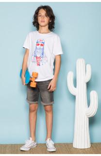 T-Shirt T-Shirt TELLON Garçon S19143B (42612) - DEELUXE