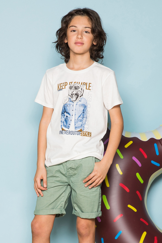 T-Shirt T-Shirt ROCKY Garçon S19162B (42643) - DEELUXE