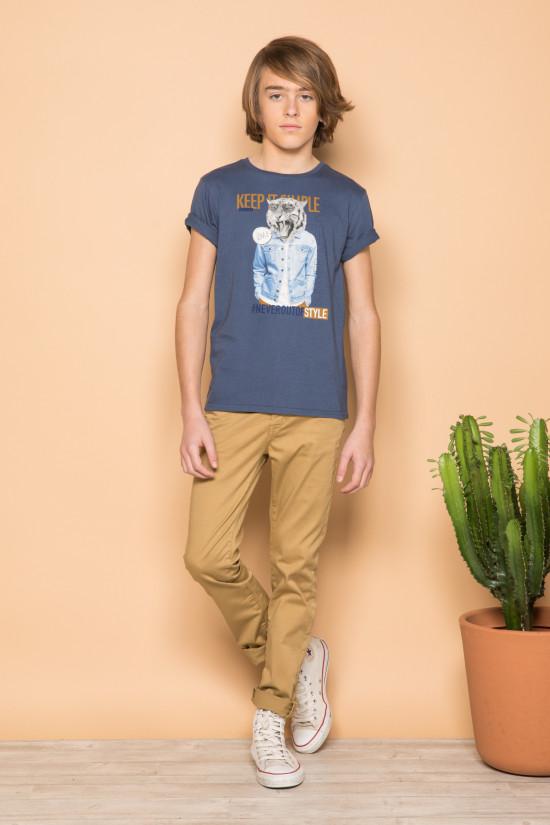 T-Shirt ROCKY Garçon S19162B (42643) - DEELUXE