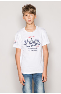 T-Shirt T-Shirt EIGHTIES Garçon S19170B (42650) - DEELUXE