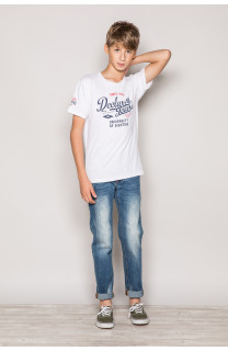 T-Shirt T-Shirt EIGHTIES Garçon S19170B (42665) - DEELUXE