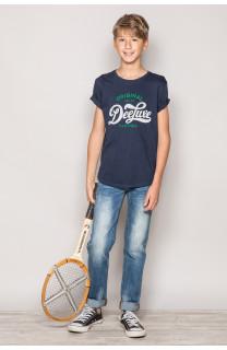 T-Shirt T-Shirt GRANT Garçon S19176B (42694) - DEELUXE
