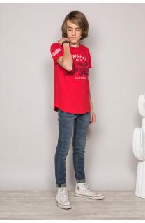 T-Shirt T-Shirt GRANT Garçon S19176B (42699) - DEELUXE